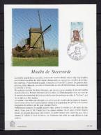 """FRANCE 1979 : Encart 1er Jour """" MOULIN DE STEENVORDE """". N° YT 2042"""