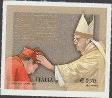O) 2014 ITALY, POPE FRANCIS - JORGE MARIO BERGOGLIO- FRANCISCO, ADHESIVE - STICKER, XF - Italy