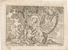 50. THOMAS-THEODORUS GHYSEN - MAASTRICHT 1827 - Imágenes Religiosas