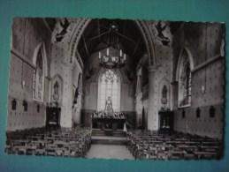 MONTEN AKEN 1963 ( MONTENAKEN - GINGELOM ) Binnenzicht Heiligdom Van O.L.V. Van Steps - Gingelom