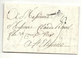 Paris Pour St Etienne (Loire)- Marque P Couronné. 1771 - 1701-1800: Precursors XVIII