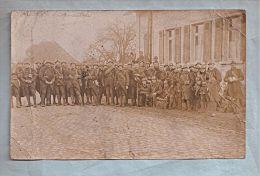 Carte Photo - Militaria - Oggersheim - Soldats - Regiments