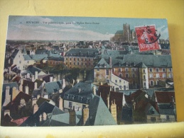 18 340 - CPA - BOURGES  - VUE PANORAMIQUE PRISE DE LA CATHEDRALE - EDITION NOUVELLES GALERIES N° 35 - 1912 - COLORISEE - Bourges