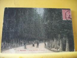 18 342 - CPA - BOURGES  - ALLEE DES PRES-FICHAUX - 1907 -  ANIMATION - Bourges
