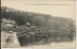 ANGOULEME , Vue Du Port Et De La Ville - Angouleme