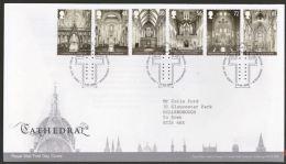 GB 2008 CATHEDRALS FDC SG 2841-46 MI 2641-46 SC 2574-79 IV 3019-24 - 1952-.... (Elizabeth II)