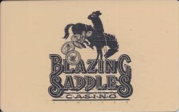 Blazing Saddles Casino - 2nd Issue Slot Card From Black Hawk, CO - Casino Cards