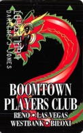 Boomtown Casino Players Club - Slot Card - Casino Cards