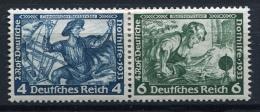 32362) DEUTSCHES REICH Zusammendruck # W 49 Gefalzt Aus 1933, 24.- € - Se-Tenant