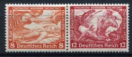 32404) DEUTSCHES REICH Zusammendruck # W 57 Gefalzt Aus 1933, 30.- € - Zusammendrucke