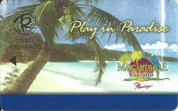Harrah´s Casino Play In Paradise / Margaritaville Casino At The Flamingo Slot Card - Casino Cards