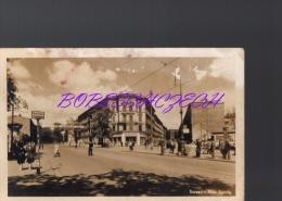 P03-546 POLAND  1950??  SZCZECIN, Plac Zgody, Tram Station Tram Stop Pryztanek Tramwajowy ,Fotoplastyka Gdynia - Gebäude & Architektur