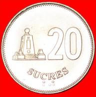 ★SHIP AND NAVIGATION: ECUADOR ★ 20 SUCRES 1991 UNC! LOW START ★ NO RESERVE!!! - Ecuador