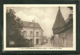41  SAINT GEORGES SUR CHER - ROUTE DE LA CHAISE (pli D' Angle) (ref 19369) - Autres Communes