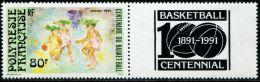 FN1519 Polynesia 1991 Basketball 1v+tabs MNH - Nuovi