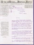 1922 COMPAGNIE GENERALE DE LA CERAMIQUE DU BATIMENT SUCCURSALE DE PARAY-LE-MONIAL SIEGE FAUBOURG POISSONNIERE PARIS - France