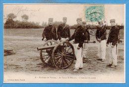56 - Camp De MEUCON --  L´Exercice Du Canon - France