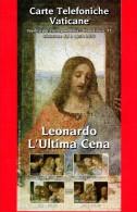 VATICANO - 2015 - Nuovo - Carte Telefoniche Vaticane  - Bollettino Ufficiale N. 77 - Leonardo - L'Ultima Cena - Vaticano (Ciudad Del)
