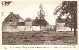"""DALHEM (4607) : Habitat Rural - Propriétés Avec Cour Fermée à Bombaye Au Sud-est De Visé. Série """"Le Pays De Herve"""". CPSM - Dalhem"""