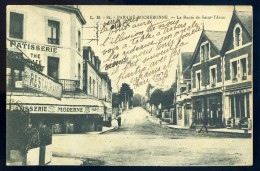 Cpa  Du 35 --  Paramé Rochebonne - La Route De Saint Ydeuc    - No 84 --  PAR3 - Parame