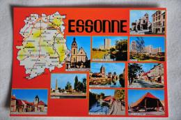 CPM Département De L'Essonne (91. Essonne) - Carte, Vues Variées - France