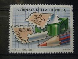 ITALIA USATI 2003 - GIORNATA DELLA FILATELIA  - SASSONE 2720 - RIF. G 0257 - 6. 1946-.. Repubblica