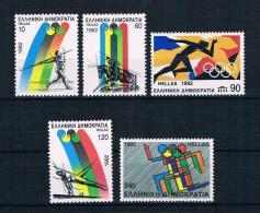 Griechenland 1992 Olympia Mi.Nr. 1792/96 Kpl. Satz ** - Greece