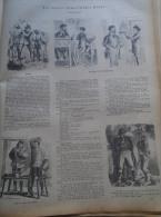 Aus Unserer Humoristischen Mappe - - Holzschnitt Gravure 1880  IW1880.165 - Estampes & Gravures