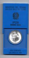 ITALIA REPUBBLICA - LIRE 500 OLIMPIADI LOS ANGELES 1984  - ARGENTO - ZECCA - Commemorative