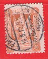 MiNr.35 O Deutschland Deutsche Abstimmungsgebiete Marienwerder - Coordination Sectors