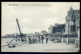 Cpa  Du 35  Paramé - Fin Des Travaux De Reconstruction De La Digue     -- No 4740  --    PAR4 - Parame