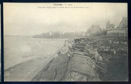 Cpa  Du 35  Paramé - La Digue  -- Nouveaux Dégats Après La Marée Des 27 & 28 Novembre 1905 --  PAR4 - Parame