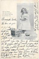 "Chocolade - Chocolat Cacao ""KOHLER"" LAUSANNE - Série Kohler N°5 - Ed: LACOMBE & ARLAUD - Circulé:1920 - Advertising"