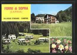 Cartolina Forni Di Sopra, Villaggio Stinsans - Camping - Altre Città