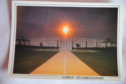 CPM CERGY-ST-CHRISTOPHE (95. Val D´Oise) - Coucher De Soleil Sur L'axe Majeur - Cergy Pontoise