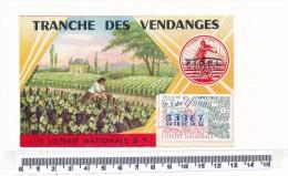 Billet De La Loterie Nationale - Tranche Des Vendanges 1972 - Billetes De Lotería