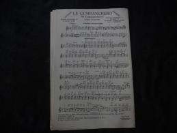 "Partition Chanson Rumba ""Le Cumbanchero"" - Partitions Musicales Anciennes"