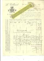 71 - Saône-et-loire - TOURNUS - Facture TEILLIARD – 1887 - REF 215 - France