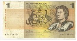 AUSTRALIA - 1 DOLLARO 1$  # BVH840824 - Landeswährung
