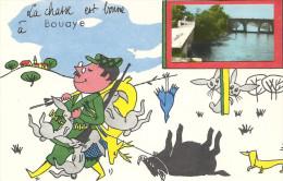 44  BOUAYE  LA  CHASSE  EST  BONNE  A  BOUAYE - Bouaye