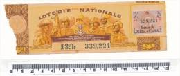 Billet De La Loterie Nationale - Les Coloniaux, 1942 - Billetes De Lotería