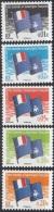 TAAF 2008 Yvert 494 - 498 Neuf ** Cote (2015) 1.20 Euro Drapeau Des TAAF - Terres Australes Et Antarctiques Françaises (TAAF)