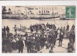 Cpa SAINT MARTIN DE RE Ile De Ré Embarquement Des Forçats Pour La Guyane - 9 Bonnaud - Saint-Martin-de-Ré