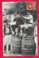 22-Binious Bratons -le Faouët--cpa  écrite 1913 - Música