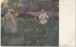 Wl. Tetmajer: Piast WWI Censored Postcard Travelled Zagreb To Vrbanja 1916 Bb151105 - Peintures & Tableaux