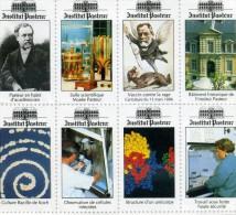 Timbres Institut Pasteur - Erinnophilie