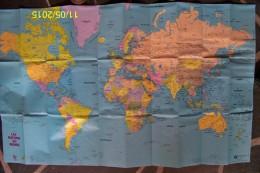 1 CARTE EDITIONS GEOGRAPHIQUES ET TOURISTIQUES GABELLI LES NATIONS DU MONDE SOLDE LIBRAIRIE 1980 NEUVE PATINE DU TEMPS ! - Karten/Atlanten