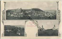Sulzbürg - Teilansicht - Jugendstil - Verlag J. Boegl Neumarkt - Andere