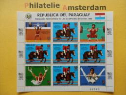 Paraguay 1986, OLYMPICS SEOUL: Mi 4053, ** - KB - Summer 1988: Seoul