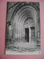 CP CANTAL -  MAURIAC N°474 PORTAIL DE L'EGLISE N.D. DES MIRACLES - Mauriac